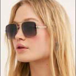 Free People Square Sunglasses NWT